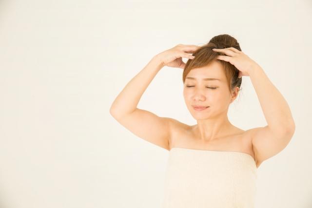 訪問美容サロンnico 頭のツボ②(西東京・武蔵野・三鷹 ライフサポートnico)