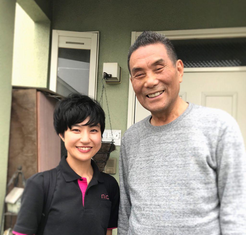 訪問美容サロンnico サンカット秋山社長(吉祥寺 ライフサポートnico)