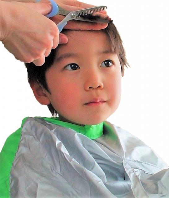 訪問美容サロンnico お子様のヘアカット ショートカット(西東京・武蔵野・三鷹 ライフサポートnico)