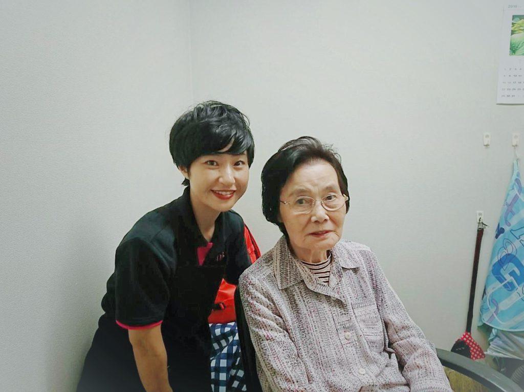 訪問美容サロンnico 戸田市 介護老人保健施設に訪問(西東京・武蔵野・三鷹 ライフサポートnico)